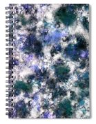 The Silent Blue Decay Spiral Notebook