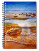 The Silent Morning Tide Spiral Notebook