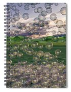 The Simplicity Of Bubbles  Spiral Notebook