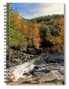 The Sinks On Little River Road In Smoky Mountains National Park Spiral Notebook