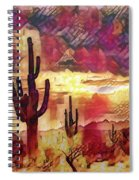 The Sonoran Saguaro  Spiral Notebook