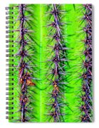 The Spines Of The Cactus Spiral Notebook