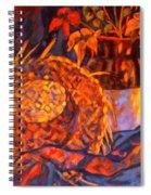 The Straw Hat Spiral Notebook