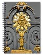 The Sun King Spiral Notebook