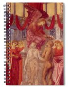The Temple Of Love Spiral Notebook