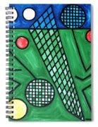 The Tennis Match Spiral Notebook