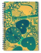 The Tme, The Place Spiral Notebook