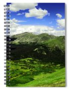 The Top Of Independence Pass Spiral Notebook