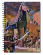 The Trojan Horse Spiral Notebook