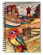 The Venician Bird Spiral Notebook