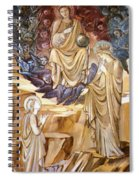 The Vision Of Saint Catherine Spiral Notebook