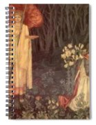 The Vision Of The Holy Grail To Sir Galahad Sir Bors And Sir Perceval Spiral Notebook