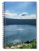 The Volcanic Beach Spiral Notebook