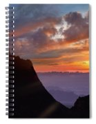 The Window At Sunset, Big Bend National Spiral Notebook