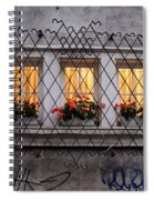 The Windows Of Sofia Spiral Notebook