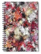 Thermal Fractures Spiral Notebook