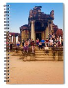 They Come To See Angkor Wat, Siem Reap, Cambodia Spiral Notebook