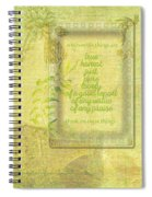 Things To Think About Spiral Notebook