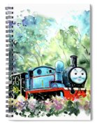 Thomas The Tank Engine In Buckfastleigh Spiral Notebook