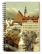 Thomasschule In Leipzig Spiral Notebook