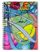 Thought Patterns #2 Spiral Notebook
