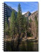Three Brothers, Yosemite National Park Spiral Notebook