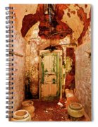 Three Empty Pots Spiral Notebook