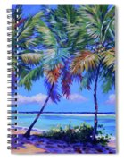 Three Palms- East End Spiral Notebook