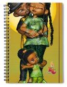 Three's No Crowd Spiral Notebook