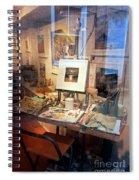 Through An Artists Window Spiral Notebook