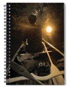 Through The Darkest Nights Spiral Notebook