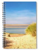 Through The Dunes Over To Budle Bay Spiral Notebook