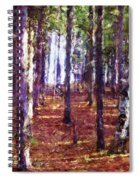Through The Forest Spiral Notebook