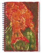 Thumb Cheek Girl 5 Spiral Notebook