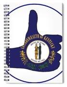 Thumbs Up Kentucky Spiral Notebook