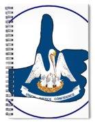 Thumbs Up Louisiana Spiral Notebook