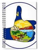 Thumbs Up Montana Spiral Notebook