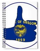 Thumbs Up Oregon Spiral Notebook