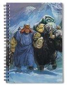 Tibet Spiral Notebook