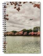Tidal Basin Blossoms Spiral Notebook