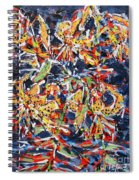 Tiger Lilies At Night Spiral Notebook
