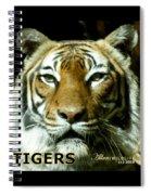 Tigers Mascot 4 Spiral Notebook