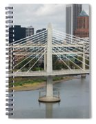 Tilikum Crossing, Portland, Oregon, Usa Spiral Notebook