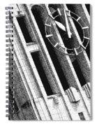 Time Tilts Spiral Notebook