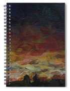 Tiny Sunset Spiral Notebook