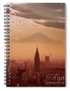 Tokyo And Mount Fuji Spiral Notebook