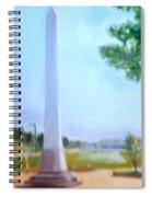 Tom Lee Monument Anniversary Print Spiral Notebook