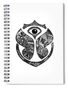 Tomrrowland Spiral Notebook