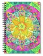 Tom's Squash Blossom Spiral Notebook