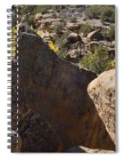 Top Of Rocks Above Canyon In Fall Spiral Notebook
